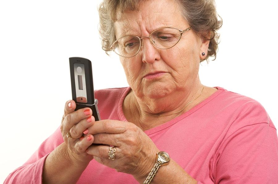 stariji i mobitel